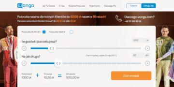 Wonga.com zwiększa kwotę pożyczki