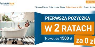 Darmowa pożyczka 1500 zł w 2 ratach