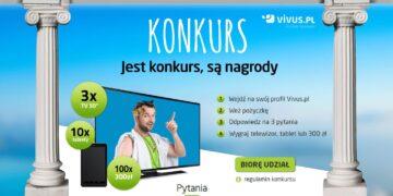 Konkurs Vivus.pl – atrakcyjne nagrody
