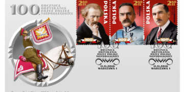 Niepodległościowe znaczki Poczty Polskiej