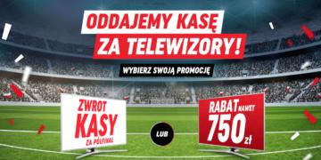Neonet zwróci 50% ceny telewizorów za awans do półfinału