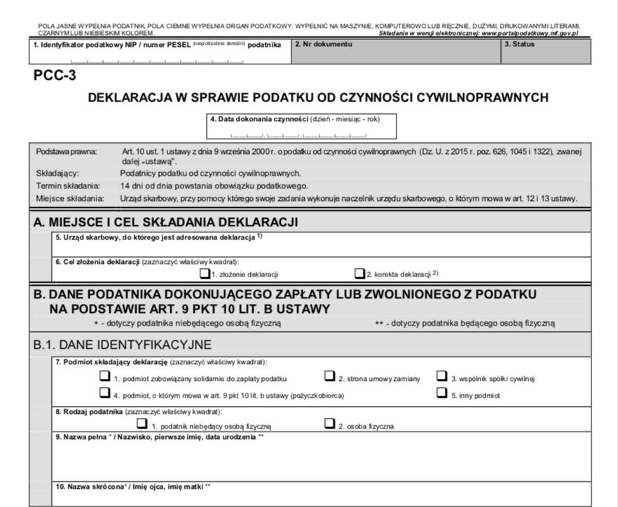 Zgloszenie Pozyczki Do Urzedu Skarbowego Sprawdz Kiedy Wzor Wniosku Poradnik