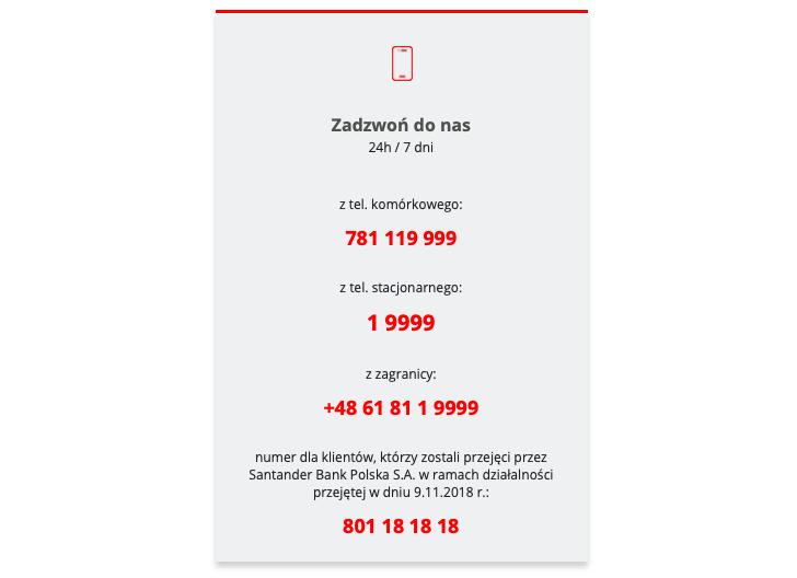 Santander Bank Polska Infolinia Kontakt Sprawdz Numer Infolinii Godziny Kontaktu