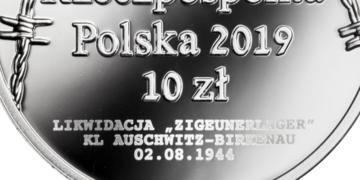 75. rocznica zagłady Romów i Sinti – kolejna moneta od NBP