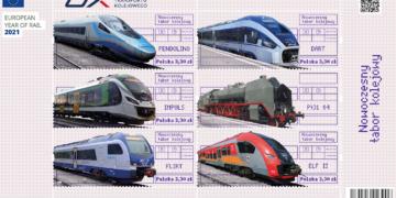 Poczta Polska promuje kolej ekologiczną
